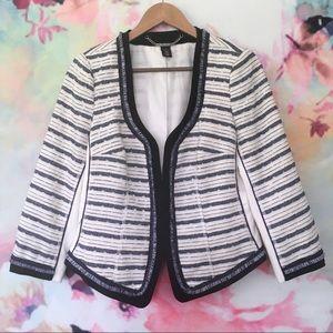 WHBM / Structured Tweed Blazer